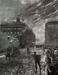 Dampfspritze von 1910